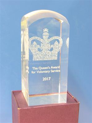Photo of Queen's Award for Voluntary Service